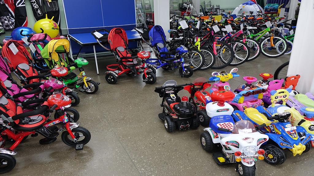 c17b383a Рады вам сообщить, что в сети магазинов «Орбита» большой выбор велосипедов  для любых возрастов и аксессуаров для них. Спортивный инвентарь, средства  ...
