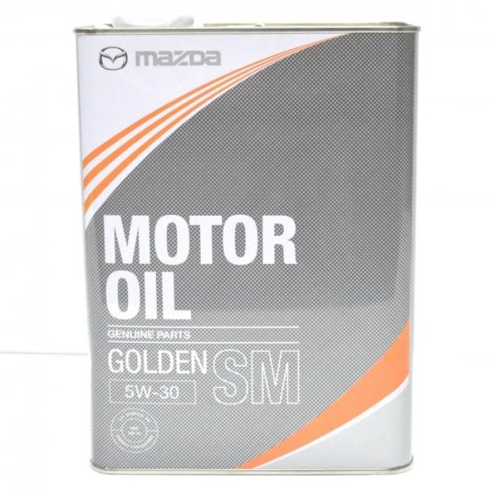 масло моторное mazda golden sm 5w30